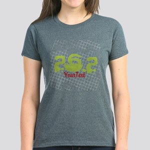 Marathon Optional Text Women's Dark T-Shirt